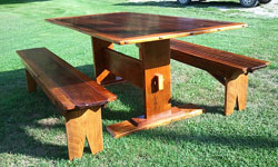 Antique Benches - Pine