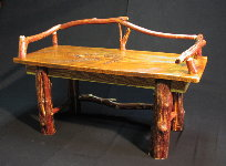 Log Benches - Red Cedar