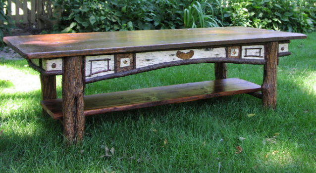 Custom Harvest Table - 12 Foot Antique Pine, Oak, Black Ash